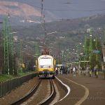 vonat a verőcei állomáson