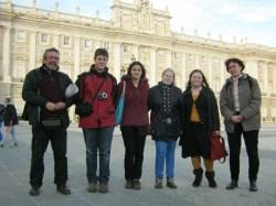 A váci piaristák Madridban