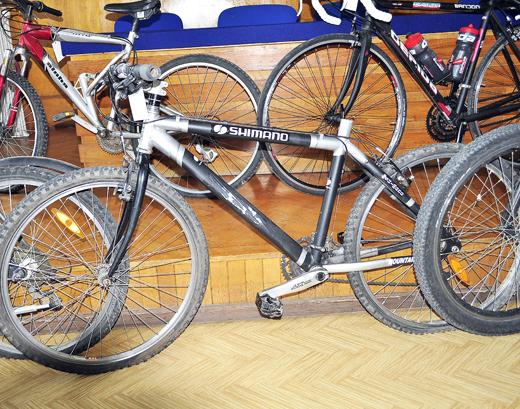 Kalász Ákos megtalált biciklije