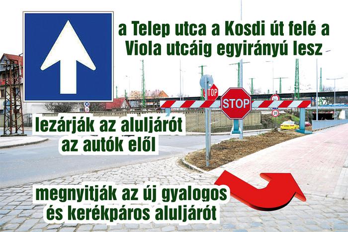 Naszály úti közlekedési rend változás-700