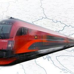 vonattal Európában