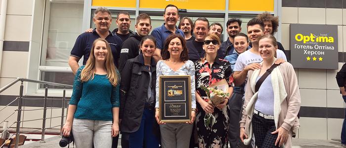 Yvonne a burgundi hercegnő díjai Khersonban 2-700