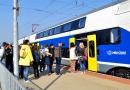 Több ezren járták be az új emeletes vonatot Vácon