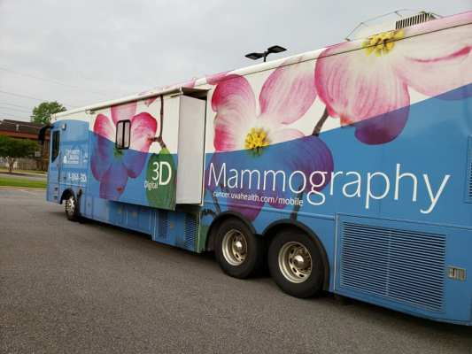 Mobile Mammogram Bus