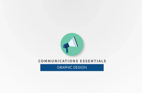 Communications & Outreach Essentials: Graphic Design