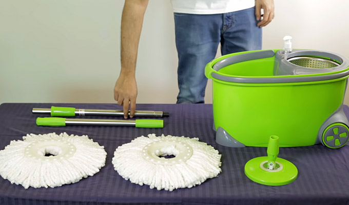 How to Assemble Spin Mop Before You Use