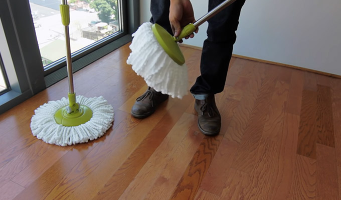 How to Use Spin Mop