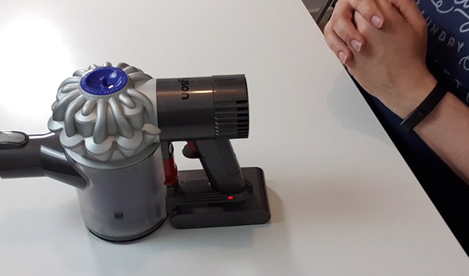 What Does the Red Blinking Light on Dyson Mean
