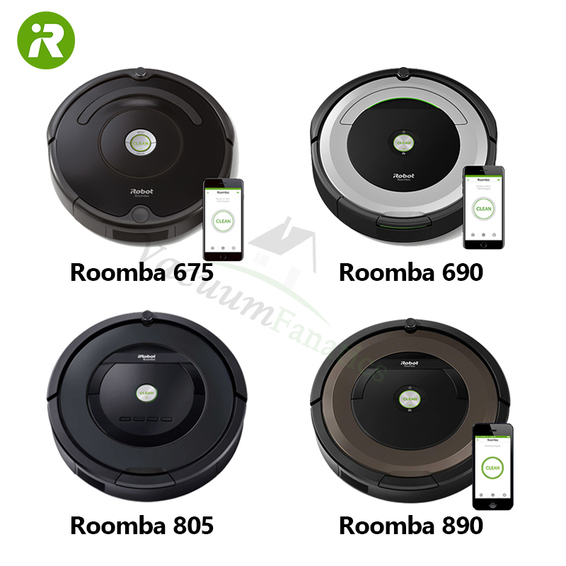 Miraculous Irobot Roomba 600 Series Vs 800 Series 675 690 805 890 Interior Design Ideas Oxytryabchikinfo