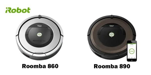 860 VS 890 vertical
