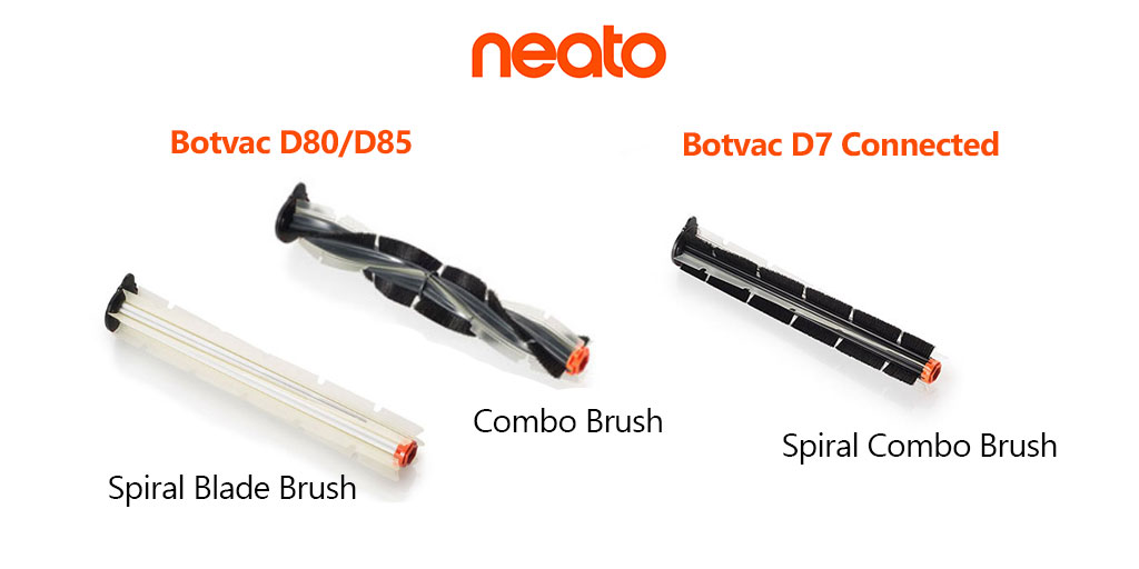 Neato Brushes D80 D85 VS D7