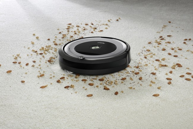 Roomba 690 working on Carpet