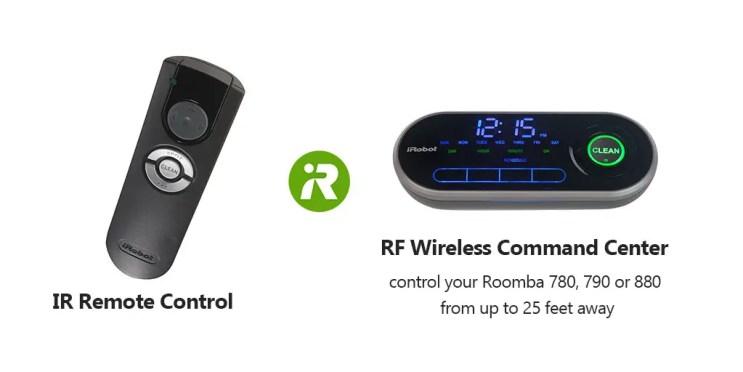 IR Remote Control VS Wireless Command Center