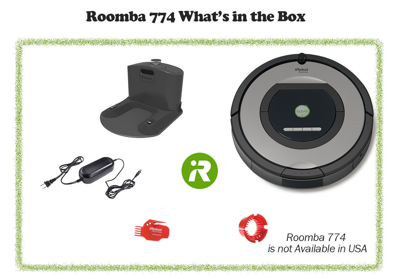 Roomba 774 in box