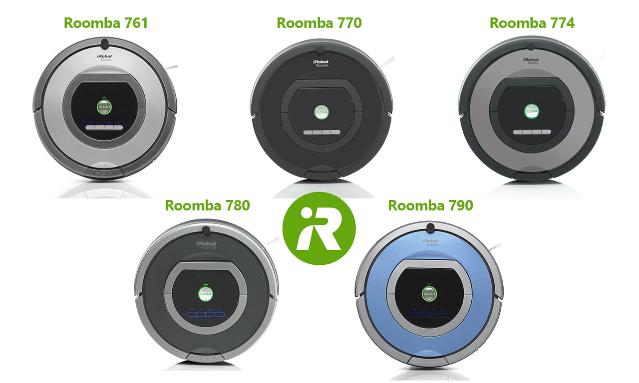 מפוארת iRobot Roomba 700 Series Comparison - Vacuum Fanatics IS-96