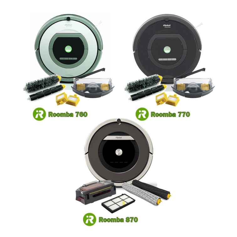760 770 and 870 Roomba