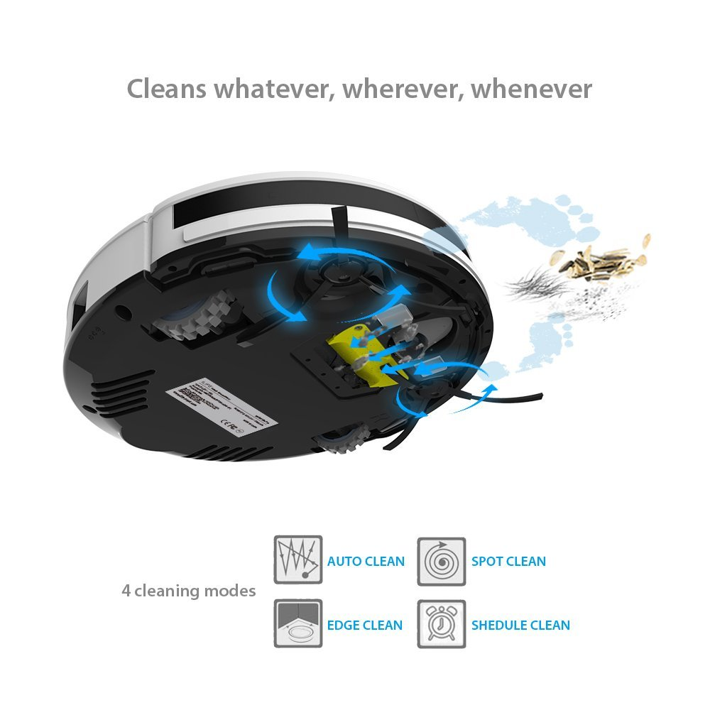 ILIFE V3S, Vacuum Fanatics, Reviews and Comparisons of Robotic Cleaners