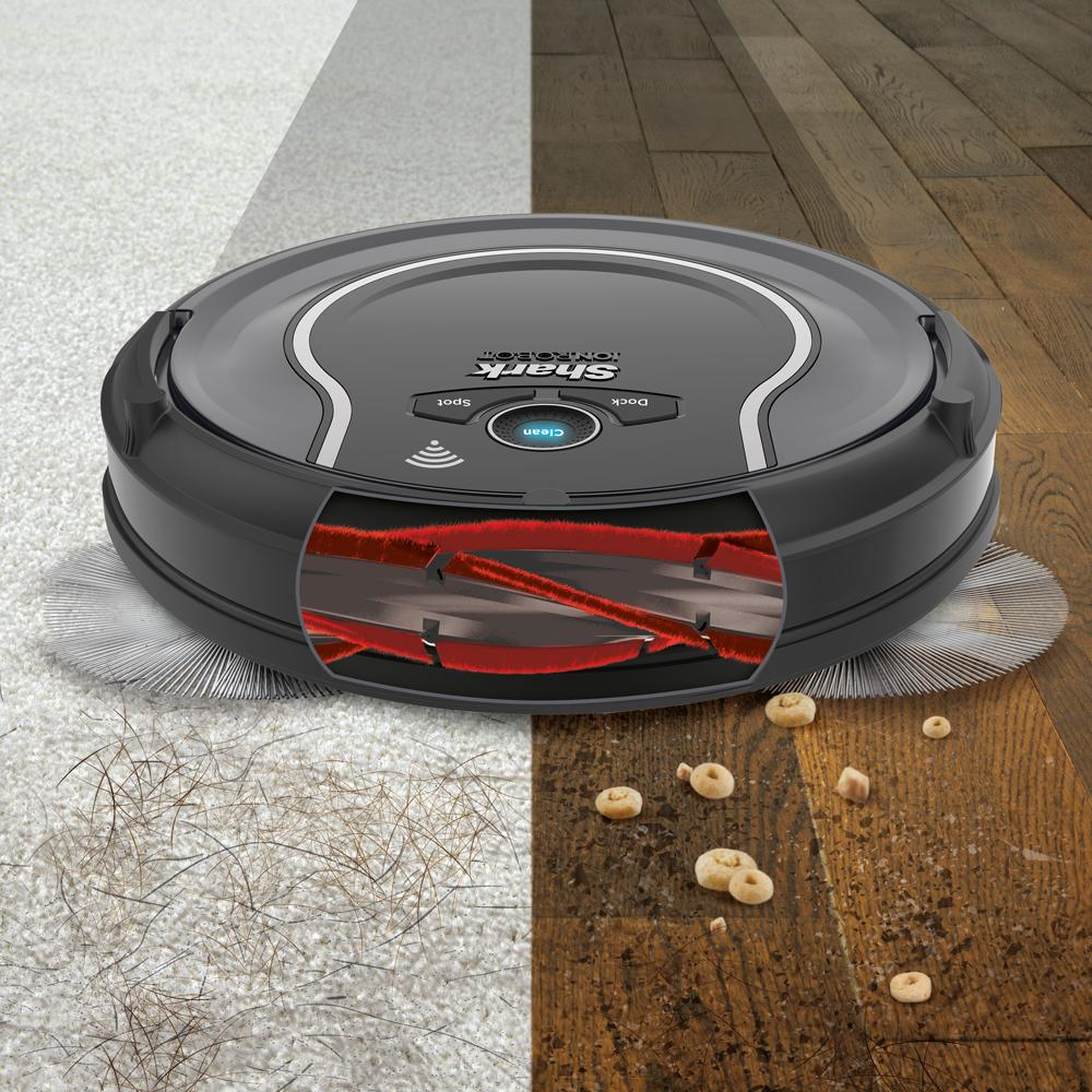 Shark ION ROBOT 750, Twin Side Brushes, Vacuum Fanatics, Reviews and Comparisons of Robotic Cleaners