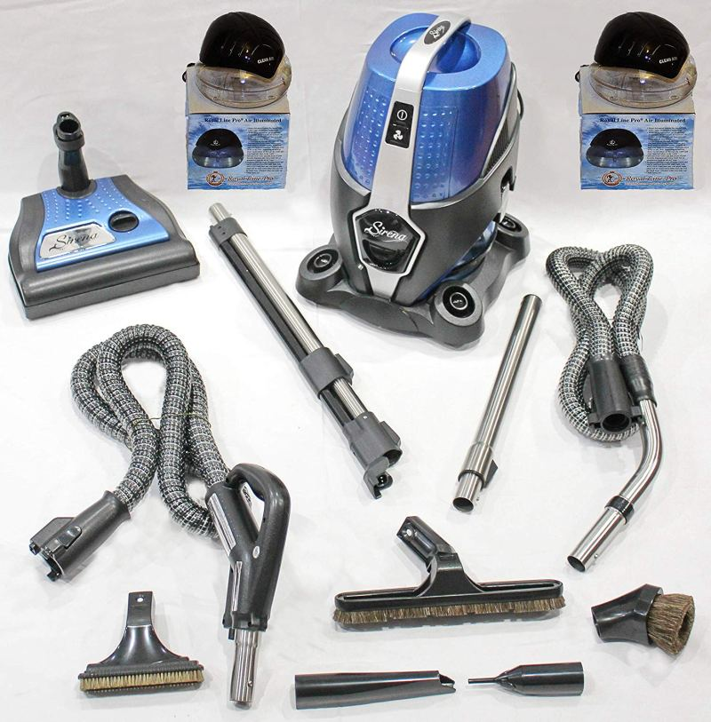 NEW 2-SPEED SIRENA VACUUM NEWEST MODELEXCLUSIVE ROYAL LINE PRO ULTRA DELUXE BONUS PACKAGE