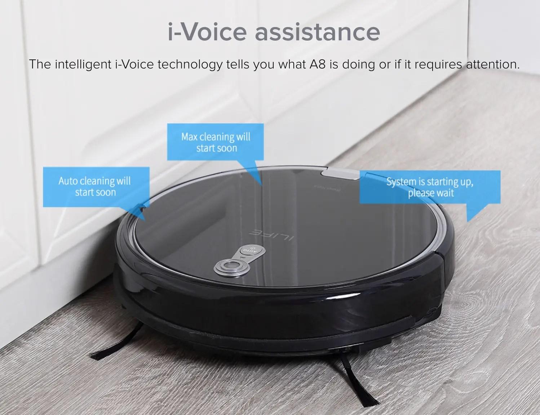 iLife A8 with Voice Assist, Comparison, Vacuum Fanatics
