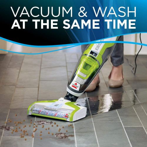 BISSELL CrossWave Floor and Carpet Cleaner with Wet-Dry Vacuum 1785A Vacuum and Wash At the same Time