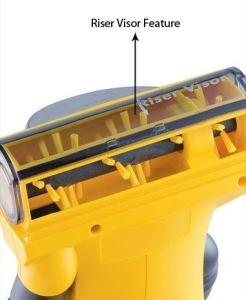 Eureka Easy Clean 71B Riser Visor