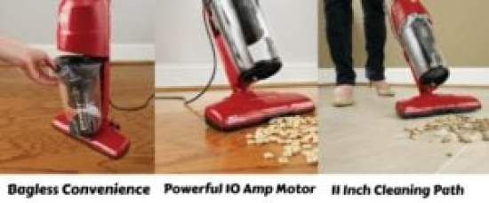 Dirt Devil Power Air Corded Bagless Stick Vacuum