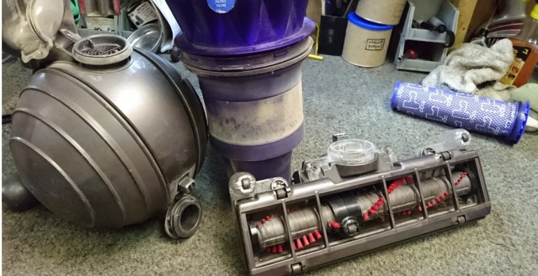 Dyson Vacuum Repair. DC25 Dyson Animal vacuum cleaner repair