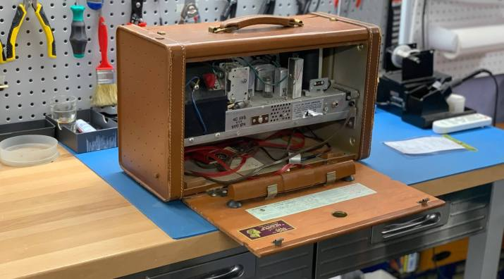 RCA Victor vintage audio repair and restoration