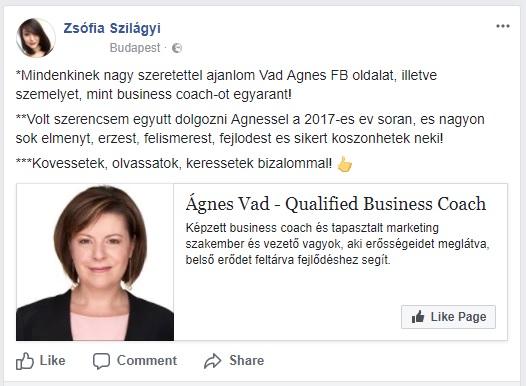 FB Acelity Zsófi ajánlás