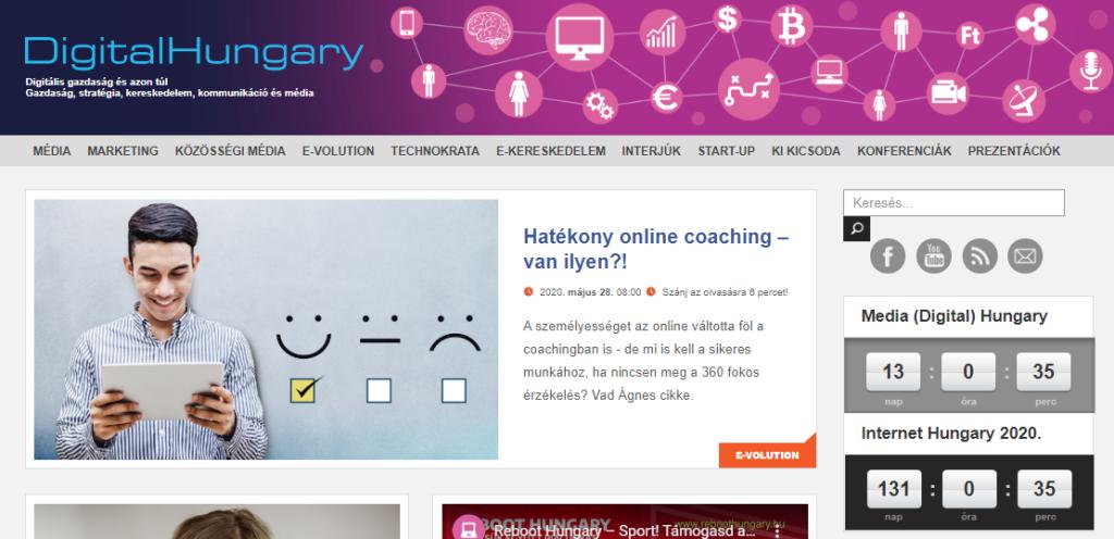 DigitalHungary - Vad Ágnes Coach: Hatékony online coaching