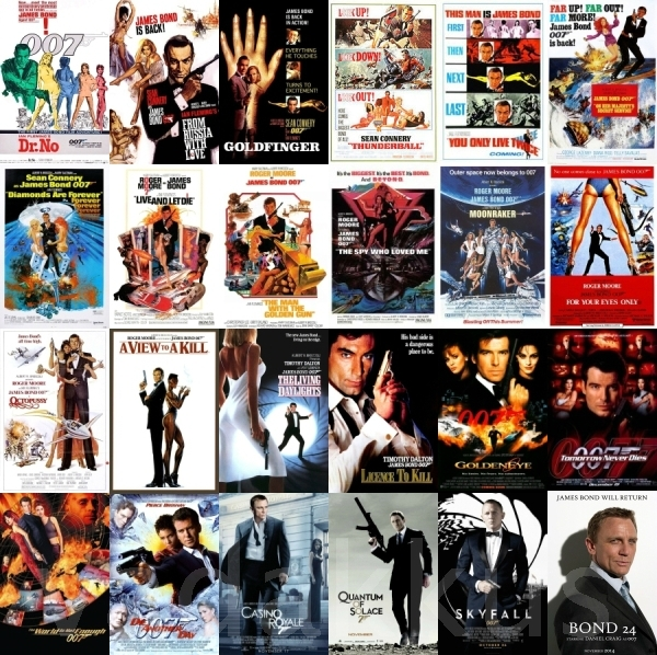 50 Years Of James Bond A Fan Tribute Vadakkus