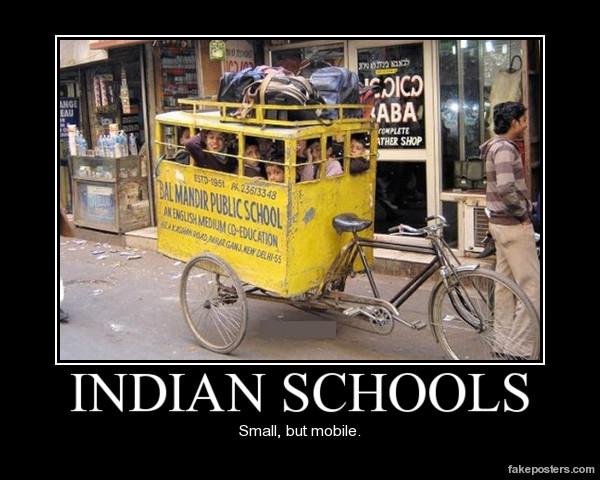 Indian Schools Demotivational