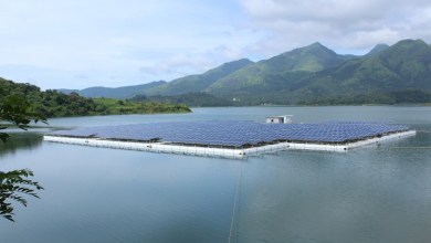 Banasurasagar Dam Floating Solar Power Plant Wayanad Kerala