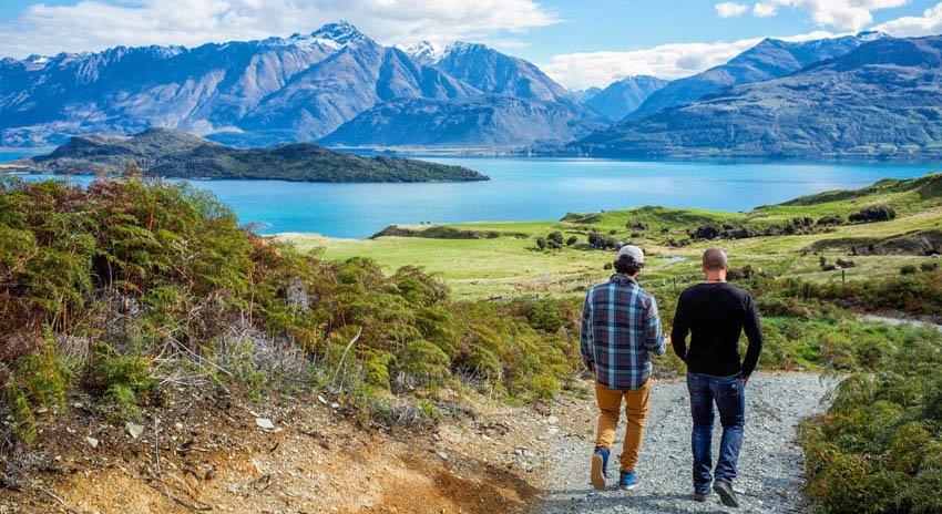 LGBT friendly honeymoon destinations New Zealand Aro Ha Wellness Adventure