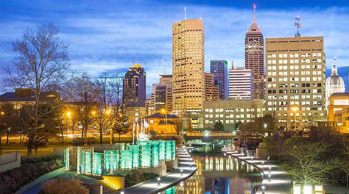5 alternative LGBT friendly cities in the US Indianapolis