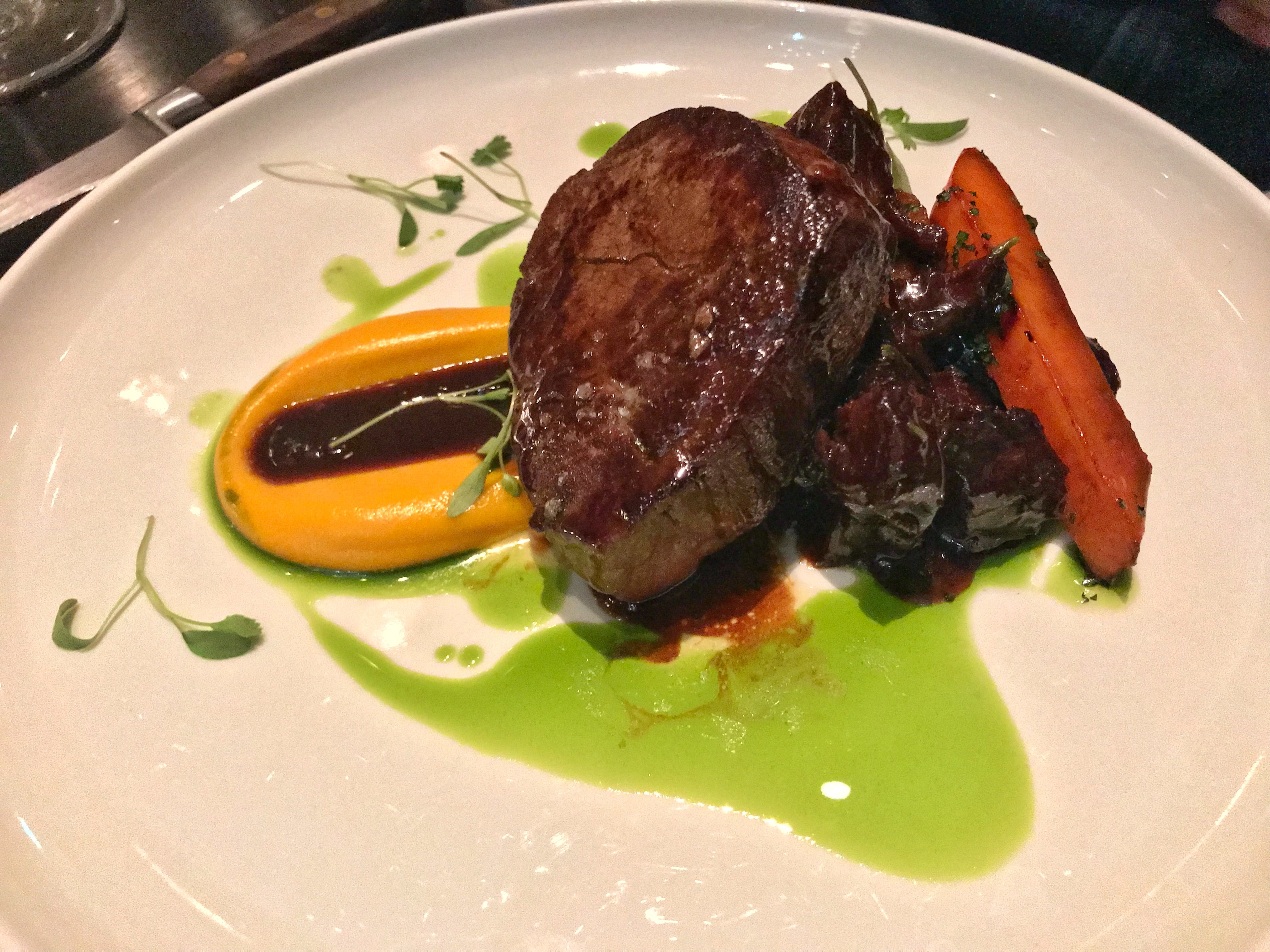 Avenue Restaurant - main - Herefordshire dry aged fillet of beef
