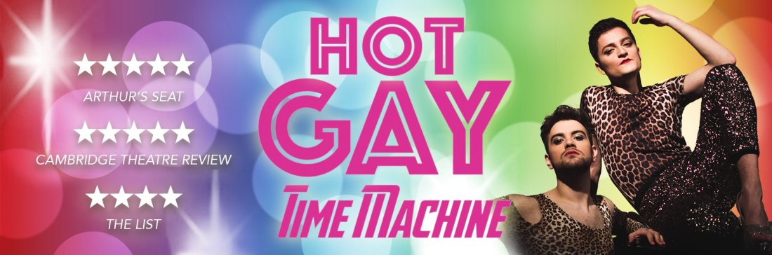 Pride in London 2018 Hot Gay Time Machine