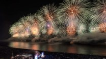 جشن سال نو میلادی - کوپاکابانا ( برزیل )