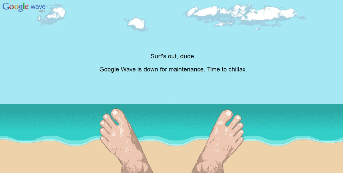 google-wave-maintenance