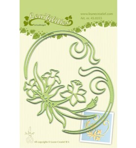 lcr45.0355 Lea'bilitie - Daffodil & swirls