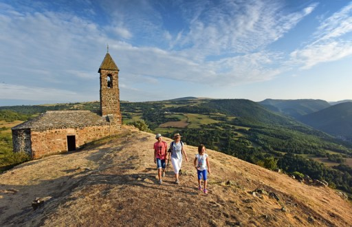 Randonnée au Pic de Brionnet, à Saurier - Pays d'Issoire (63)