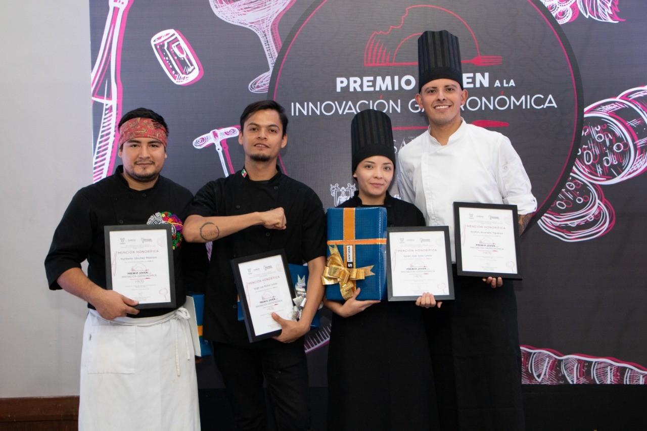Presentan a los 4 finalistas del Premio Joven a la Innovación Gastronómica