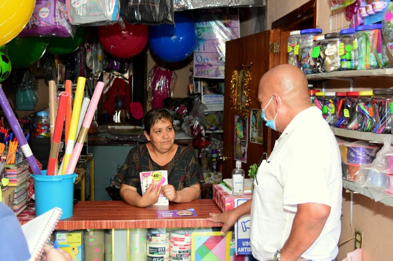 Felipe Michel se compromete a trabajar con la población de Cofradía de Suchitlán