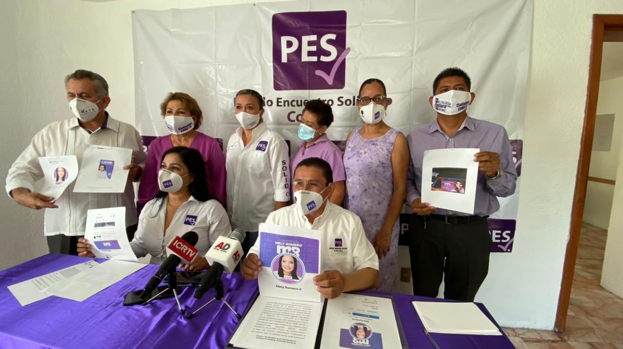 """PES se deslinda categóricamente de la coalición """"Va Por Colima"""""""