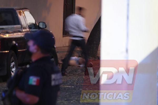 Asesinan a una persona en la colonia El Llano, muy cerca de Soriana en VdeA
