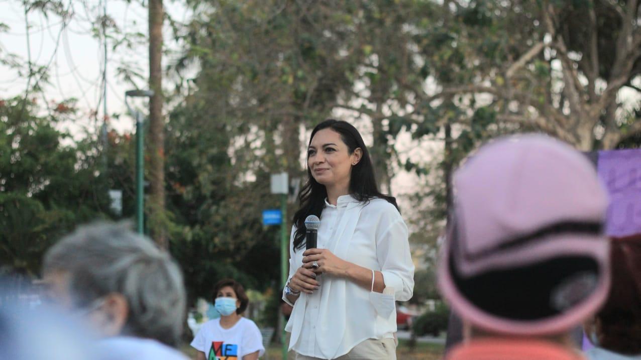 Mely Romero impulsará el trabajo conjunto con la sociedad civil organizada