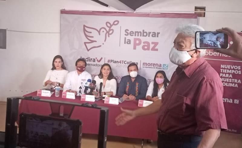 Pide Héctor Lara Chávez, pruebas del proceso para elegir a diputados locales en MORENA