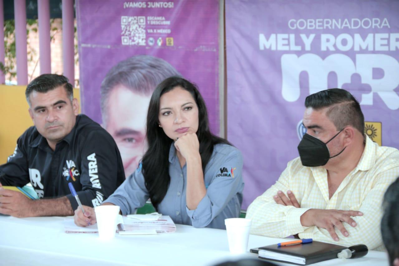 """Votar por """"4-T"""" es destruir programas y presupuestos: Mely Romero"""