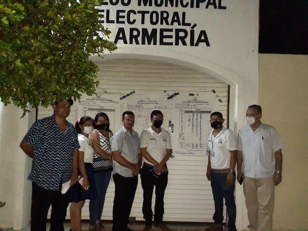 Concluye cómputo municipal para Ayuntamiento en Armería, mantiene su triunfo Morena